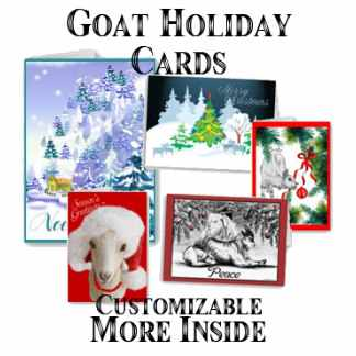 Goat Holiday Cards
