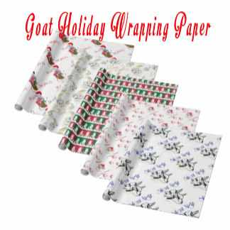 Goat Holiday Wrapping Paper sec