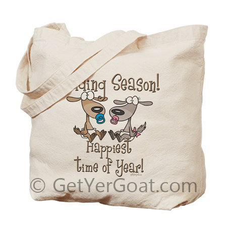 Kidding Season Goat Tote